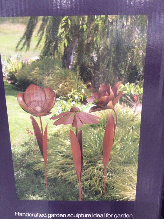 Image Result For Inside Outside Garden Metal Flower Stake