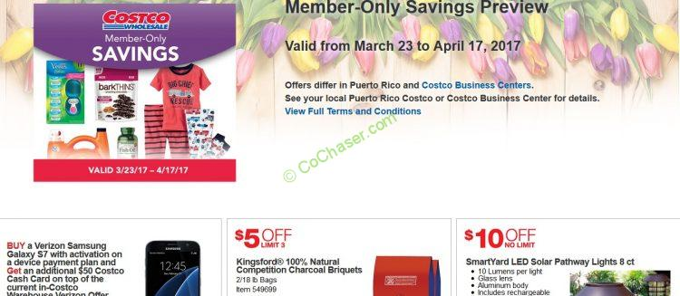 Costco Coupon Book: March 23 – April 17, 2017