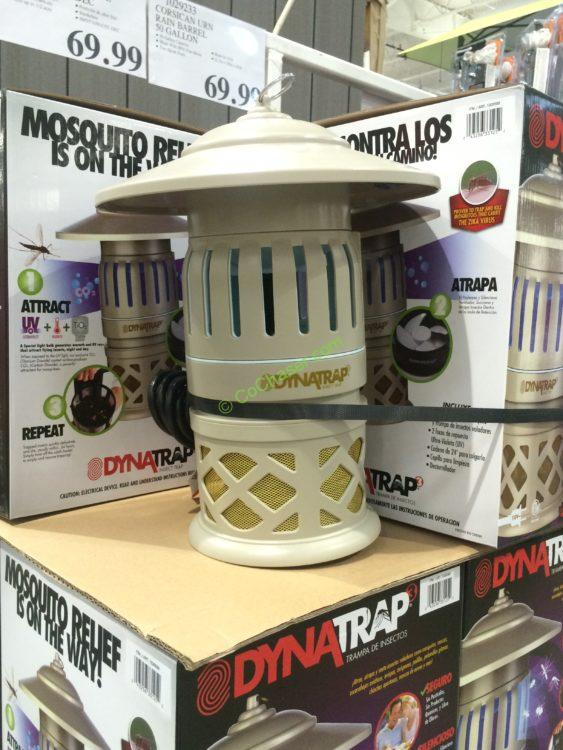 Dynatrap  Insect Trap with 2 UV Bulbs Taupe M#DT1050-CST-DEC