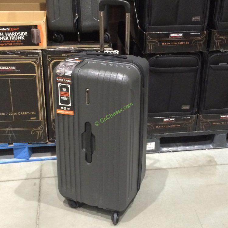 """Costcochaser: Traveler Choice 30"""" Spinner Trunk"""