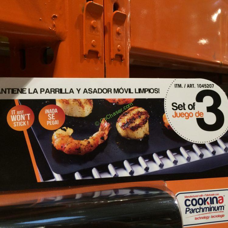 Costcochaser: Costco-1045207-Cookina-3PK-BBQ-Grill-Sheets-NON-Stic-spec1