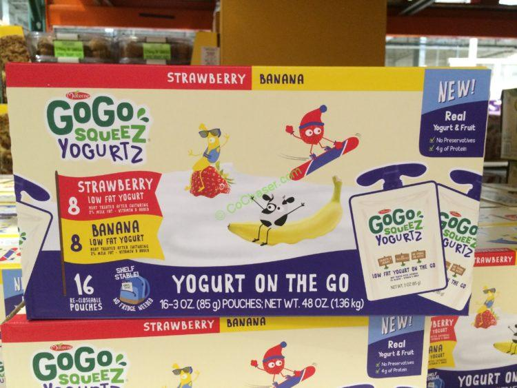 GOGO Squeeze Yogurtz Variety 16/3 Ounce Pouches
