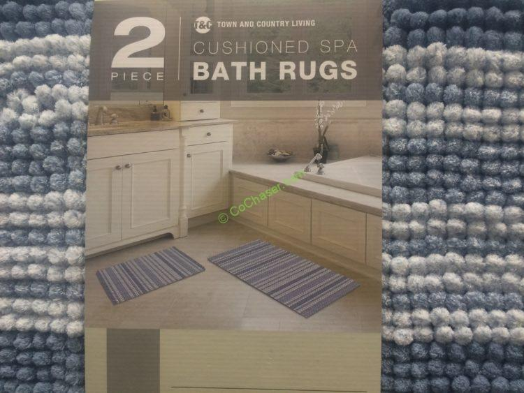 Costco 1068291 Town Country Spa Bath Rug Use Costcochaser