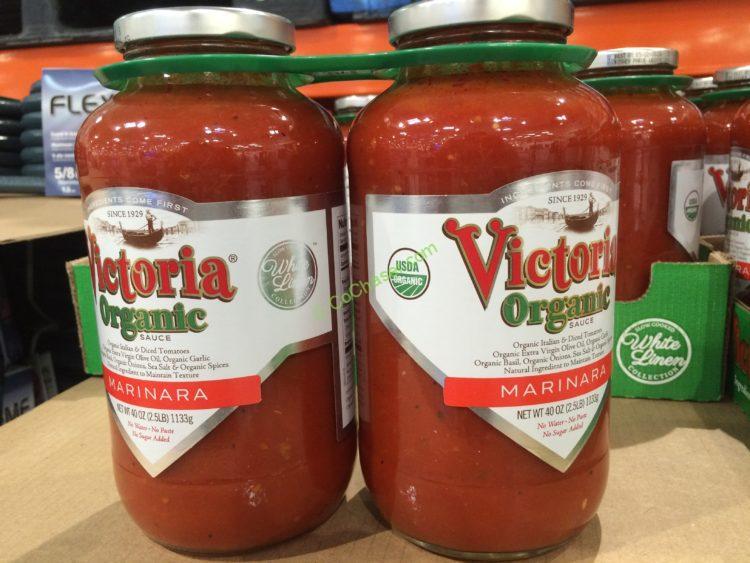 Victoria Organic Marinara Sauce 2/40 Ounce Jars