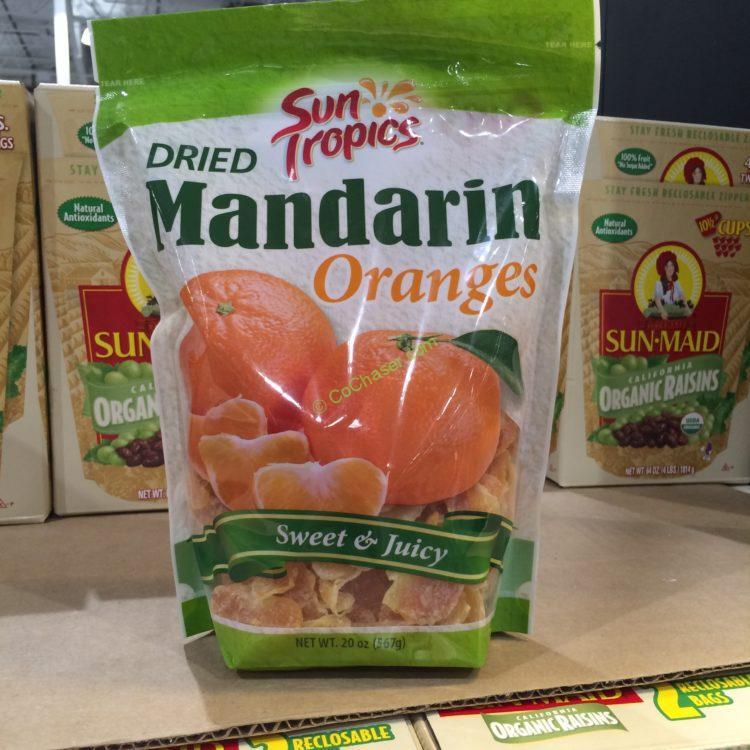 Sun Tropics Dried Mandarin Oranges 20 Ounce Bag