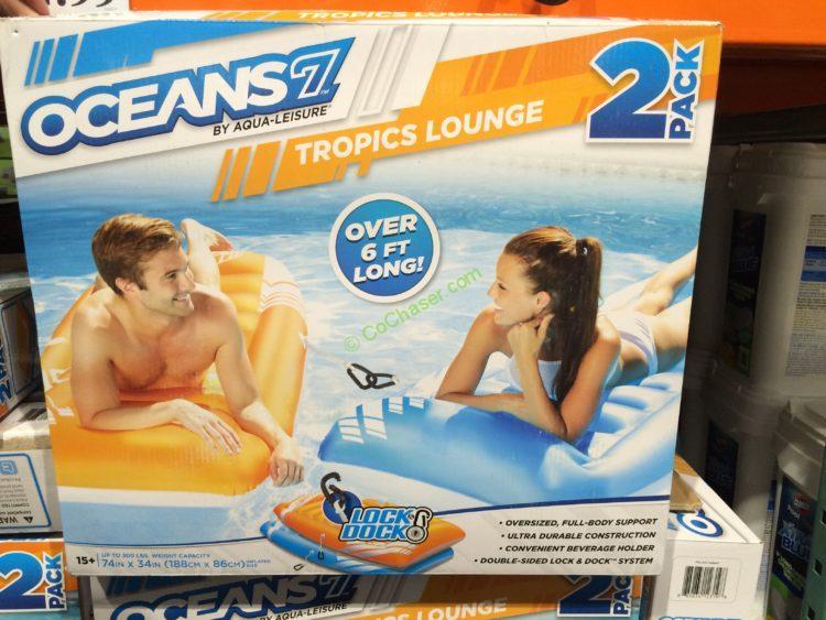 Ocean by Aqua-Leisure Tropics Lounge 2PK