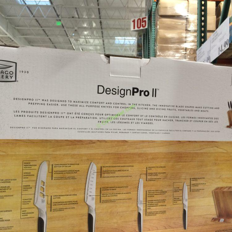 Costcochaser: Costco-1103339-Chicago-Cutlery-Design-PRO-II-spec9