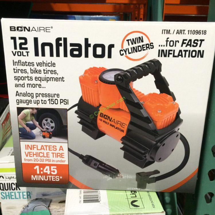 Costcochaser: BON-Aire 12V Twin Cylinder Inflator