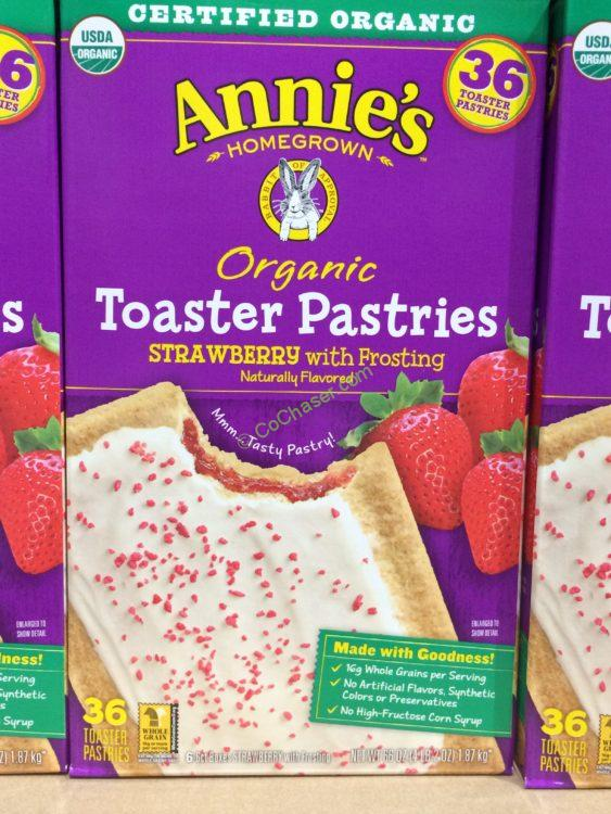 Annie's Organic Toaster Pastries 36 Count Box