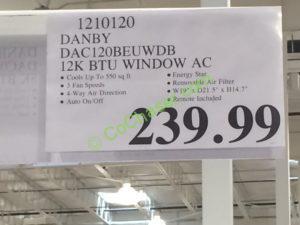Costco-1210120-Danby-12K-BTU-Window-AC-tag
