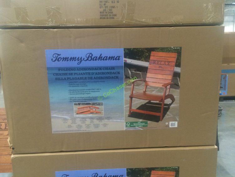 Tommy Bahama Folding Adirondack Chair Costcochaser