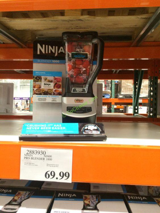 Ninja pro blender 1000 nj600 costcochaser for Perfect drink pro review