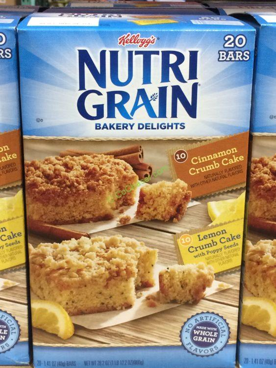 Kellogg's Nutri-Grain Cereal Bar 20 Count Box
