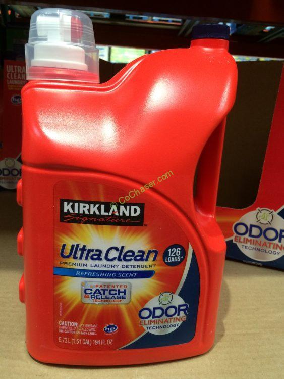 Kirkland Signature Ultra He Detergent 126 Loads 194