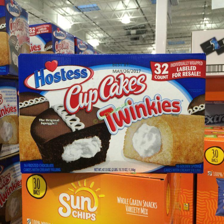 Hostess Cupcakes and Twinkles 32 Count Box