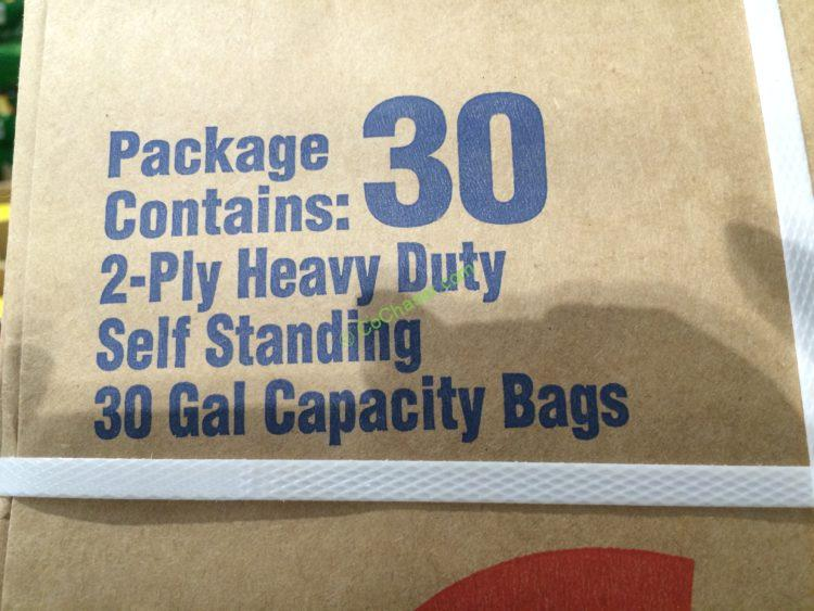Lawn Amp Leaf Bag 2 Ply Heavy Duty 30 Bags Costcochaser
