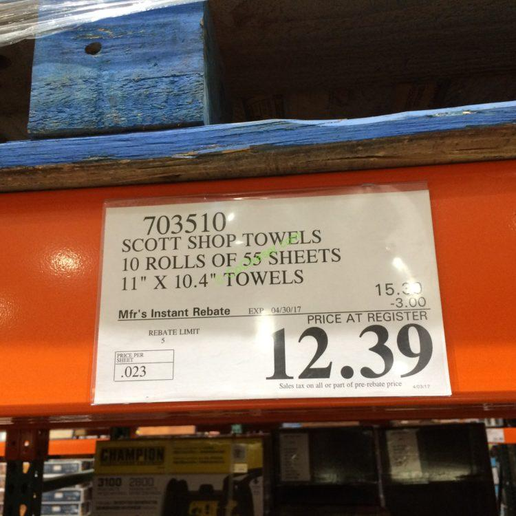 Costcochaser: Scott Shop Multi-Purpose Original Towels