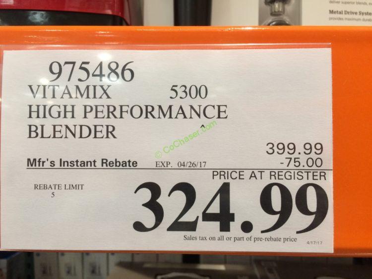 Vitamix Blender Costco : Vitamix costco