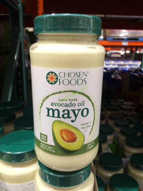 Chosen Foods Avocado Oil Mayonnaise 24 Ounce Jar