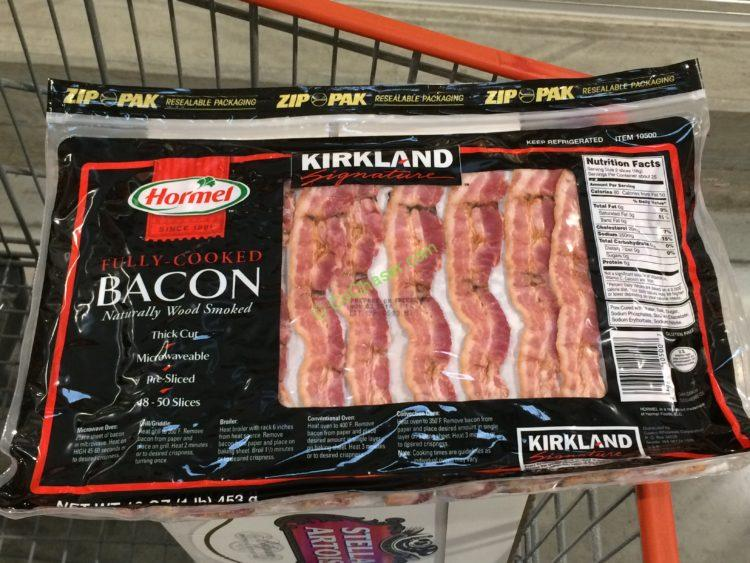 Kirkland Signature Hormel Fully Cooked Bacon 1 Pound Package – CostcoChaser