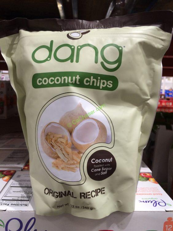 Dang Foods Toasted Coconut Chips 12 Ounce Bag