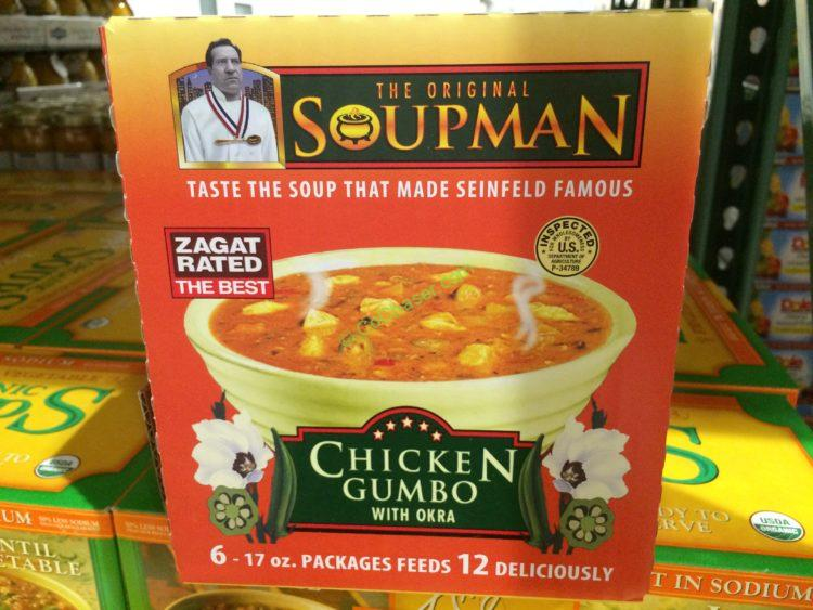 The Original Soupman Chicken Gumbo 6/17 Ounce Containers