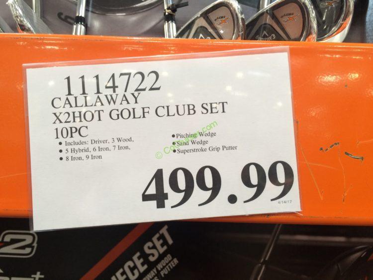 Callaway X2hot Golf Club Set 10 Pc Costcochaser
