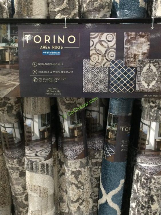 """Gertmenian Torino Area Rug 5'3"""" x 7'"""