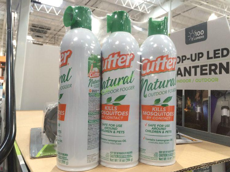 Cutter Natural Mosquito Fogger 3 Pack / 14 oz