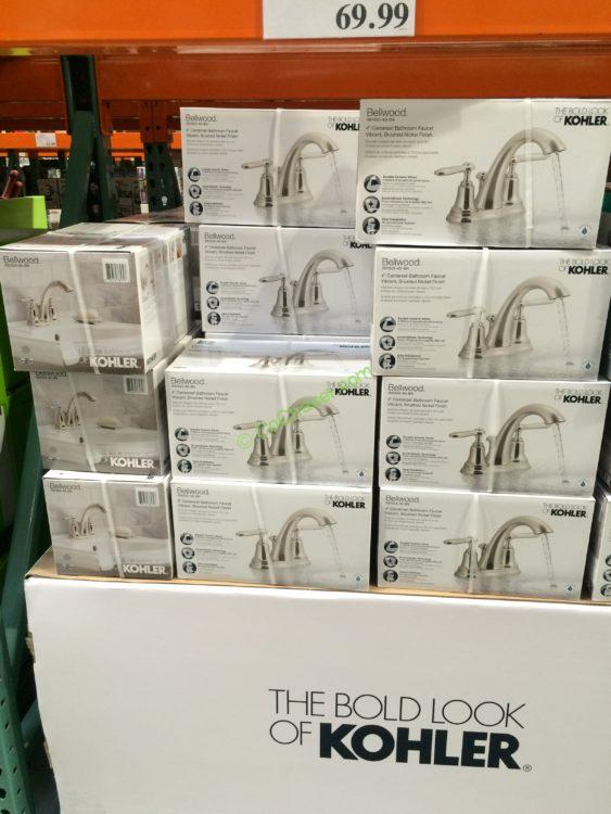 Costco 1143704 Kohler Bellwood Centerset Faucet All