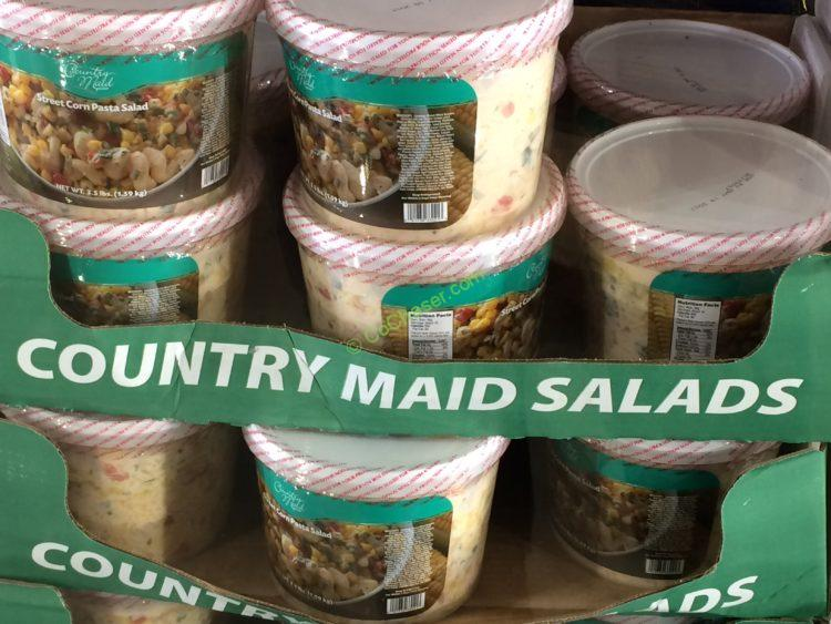 Country Maid Street Corn Pasta Salad 3.5 Pound Tub