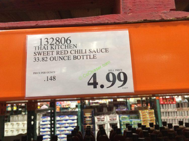 Costco-132806-Thai-Kitchen-Sweet-Red-Chili-Sauce-tag
