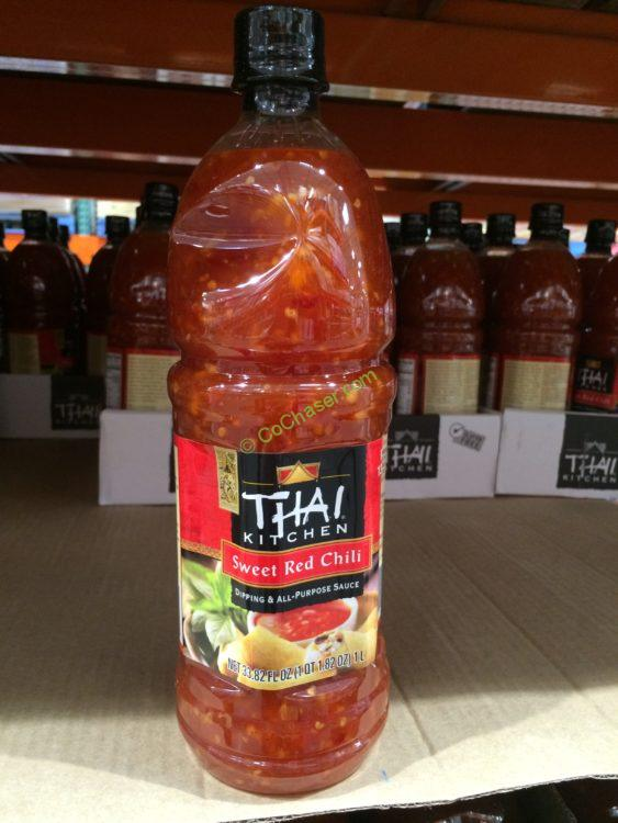 Thai Kitchen Sweet Red Chili Sauce 33.82 Ounce Bottle