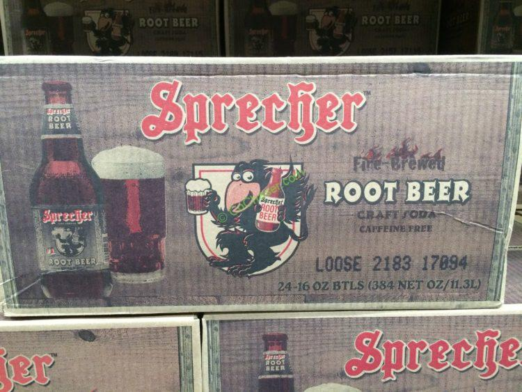 Sprecher Root Beer 24/16 Ounce Bottles
