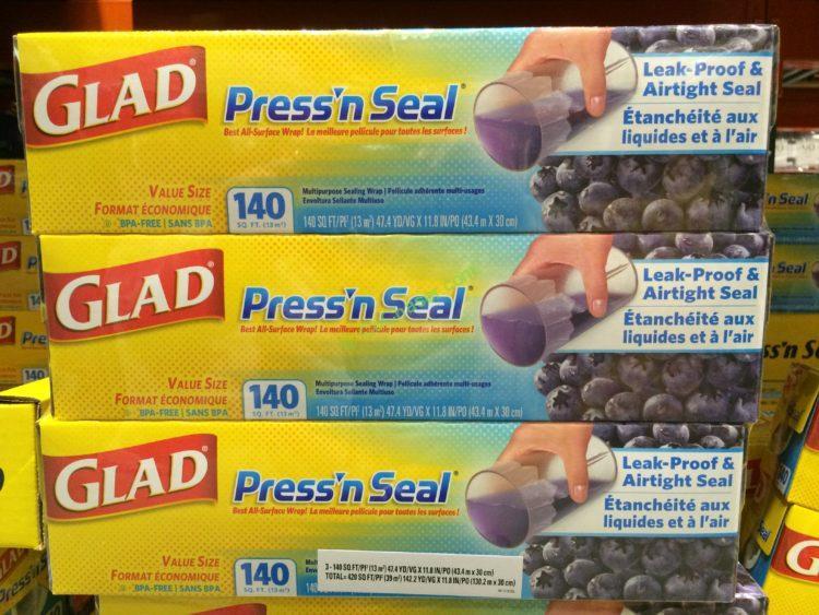 Glad Press'N Seal 3/140 SQ FT Rolls