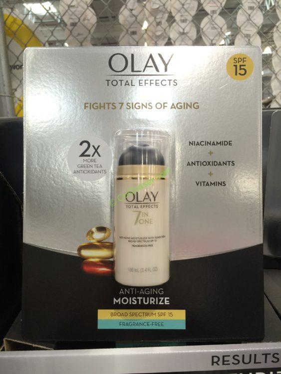 Olay Total Effects SPF 15 Fragrance Free 3.4 OZ