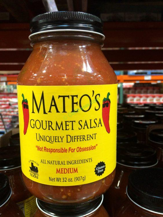 Mateo's Gourmet Salsa 32 Ounce Jar