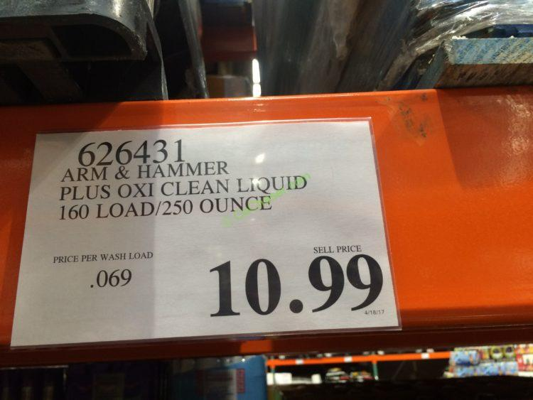 Costco-626431-Arm-Hammer-plus-OxiClean-Liquid-tag