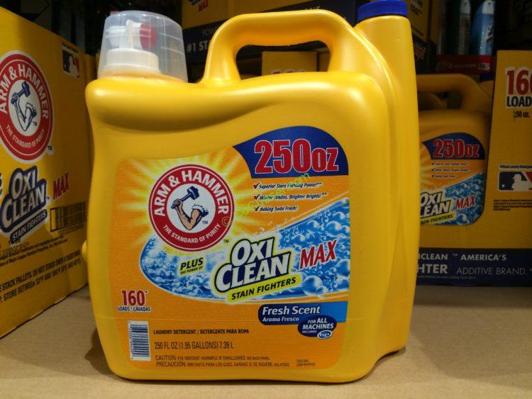 Arm & Hammer plus OxiClean Liquid 250 oz./160 Loads