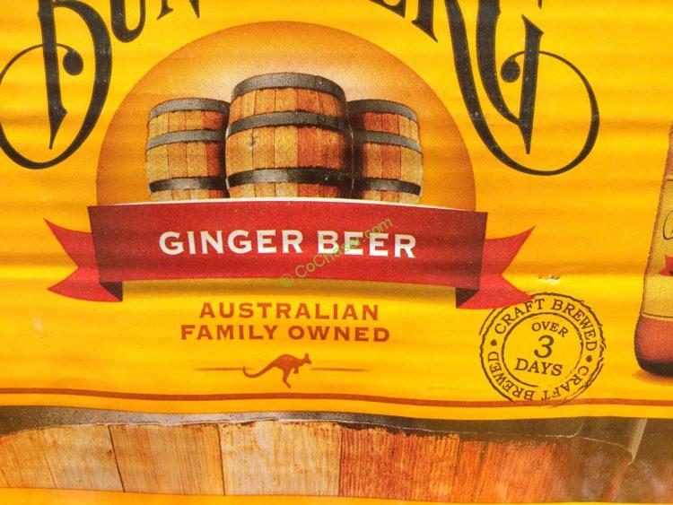 Bundaberg Ginger Beer 12/12.7 Ounce Bottles