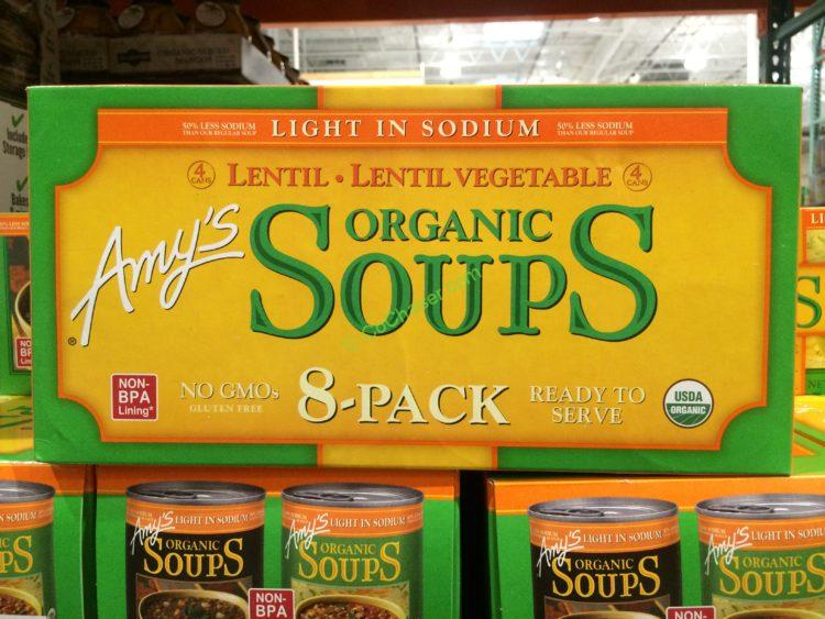 Amys Organic Soup 814 Ounce Can Costcochaser