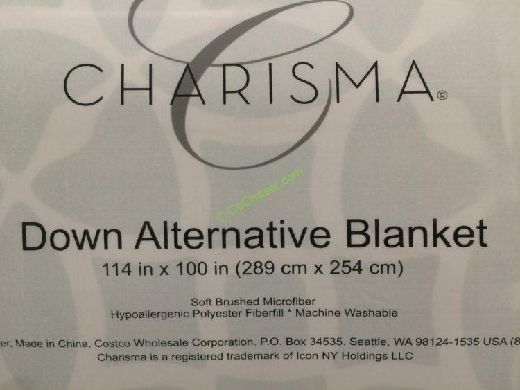 charisma down alternative king blanket costcochaser. Black Bedroom Furniture Sets. Home Design Ideas