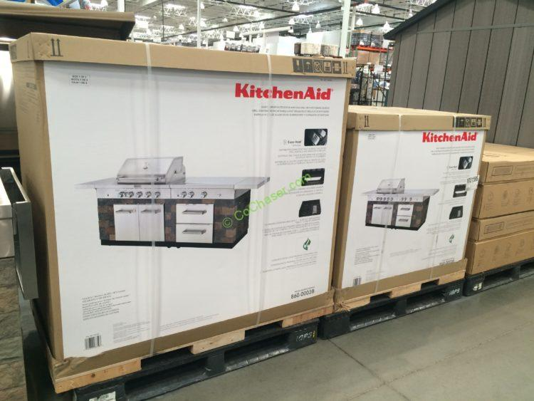 Costco 1031595 Kitchenaid 9 Burner Island Grill Cover