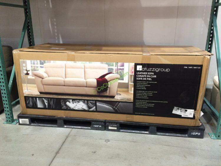Natuzzi Leather Sofa Costco A319 Editions