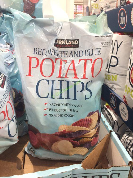 Kirkland Signature Red White & Blue Chips 2/20 Ounce Bags