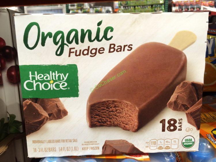 Healthy Choice Organic Fudge Bar 18 Count Box
