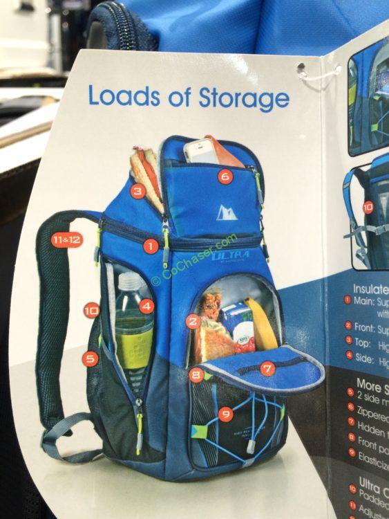 Costco 1056098 California Innovations Ultra 24can Backpack
