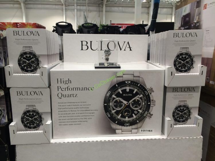 Bulova Stainless Steel Men S Chronograph Watch Model 98b298