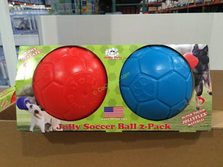 Jolly Pets Soccer Ball 2 Pack