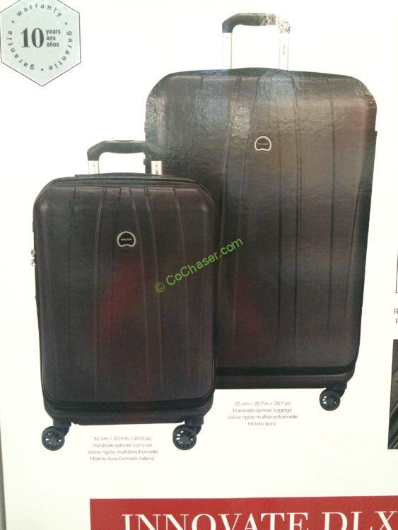 Delsey 2PC Hardside Spinner